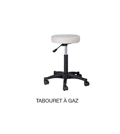 Tabouret rond blanc...
