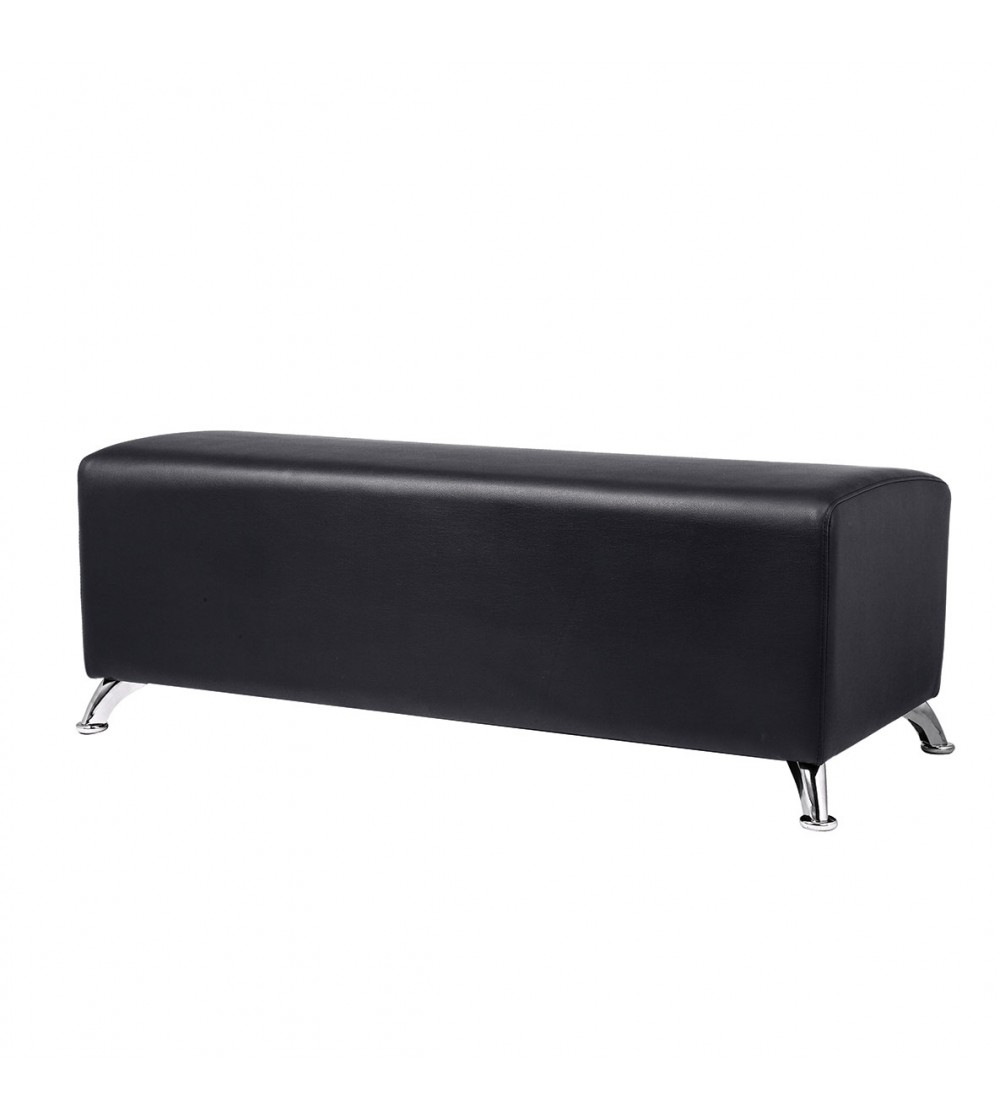 Pearl reception bench for hair salon