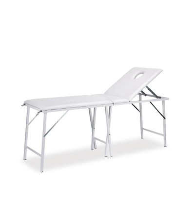 Transportable massage table for beauty salon and SPA.